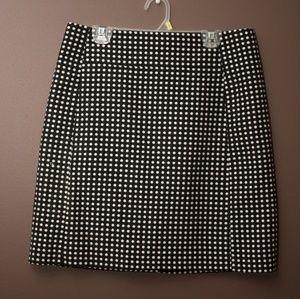 LOFT Polka dot mini skirt